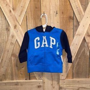 GAP 12-18 Months baby boy zip hoodie